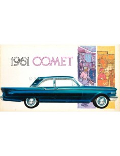 1961 MERCURY COMET BROCHURE ENGLISH