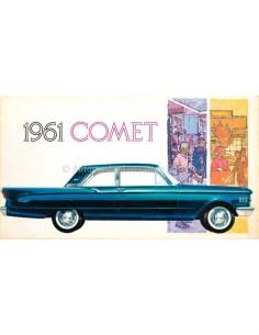 1961 MERCURY COMET PROSPEKT ENGLISCH