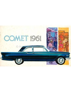 1961 MERCURY COMET BROCHURE DUTCH