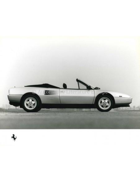 1989 FERRARI MONDIAL T PERSMAP FRANS 545/89