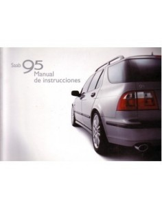 2002 SAAB 9.5 OWNERS MANUAL HANDBOOK SPANISH