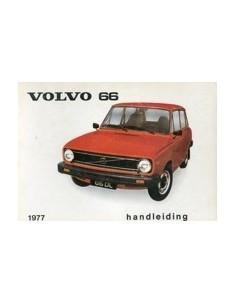 1977 VOLVO 66 OWNERS MANUAL HANDBOOK DUTCH