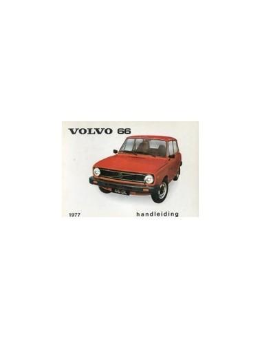 1977 VOLVO 66 INSTRUCTIEBOEKJE NEDERLANDS