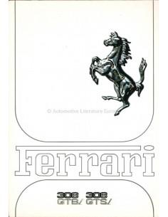 1981 FERRARI 308 GTBi GTSi BROCHURE 206/81