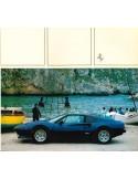 1984 FERRARI 308 QUATTROVALVOLE BROCHURE 258/83