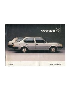 1985 VOLVO 340 360 INSTRUCTIEBOEKJE NEDERLANDS