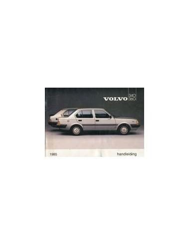 1985 VOLVO 340 360 INSTRUCTIEBOEKJE NEDERLANDS