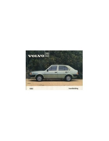 1983 VOLVO 340 360 INSTRUCTIEBOEKJE NEDERLANDS