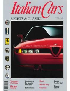 1990 ITALIAN CARS SPORTS & CLASSIC MAGAZIN ENGLISCH 1
