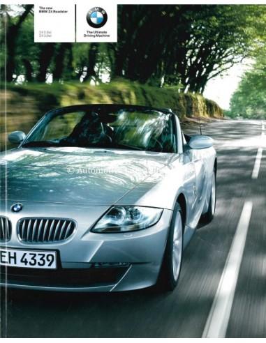 2005 BMW Z4 Roadster Brochure Australisch