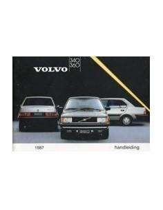 1987 VOLVO 340 360 INSTRUCTIEBOEKJE NEDERLANDS
