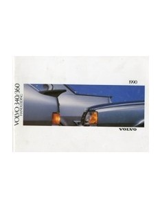 1990 VOLVO 340 360 OWNERS MANUAL HANDBOOK DUTCH
