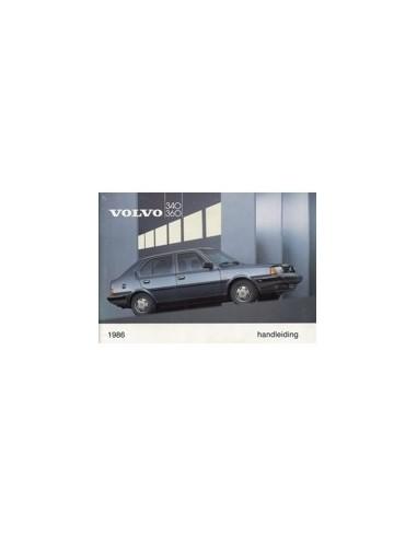 1986 VOLVO 340 360 INSTRUCTIEBOEKJE NEDERLANDS