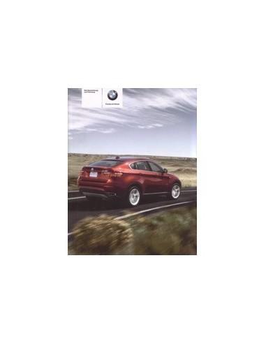 2009 BMW X5 X6 M INSTRUCTIEBOEKJE DUITS