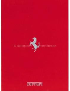 1989 FERRARI PROGRAMM PROSPEKT ITALIENSCH 573/89