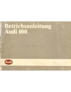 1984 AUDI 100 BETRIEBSANLEITUNG DEUTSCH
