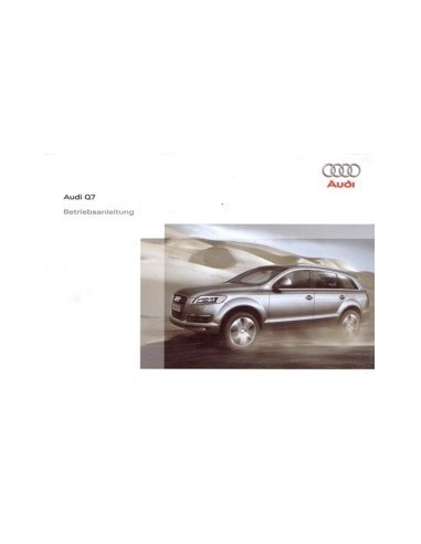 2007 audi q7 owners manual handbook german automotive literature rh autolit eu audi q7 owners manual 2017 2007 audi q7 owners manual pdf