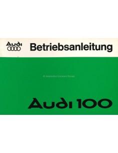 1976 AUDI 100 INSTRUCTIEBOEKJE DUITS