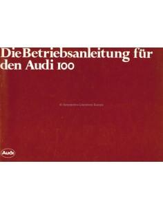 1978 AUDI 100 BETRIEBSANLEITUNG DEUTSCH