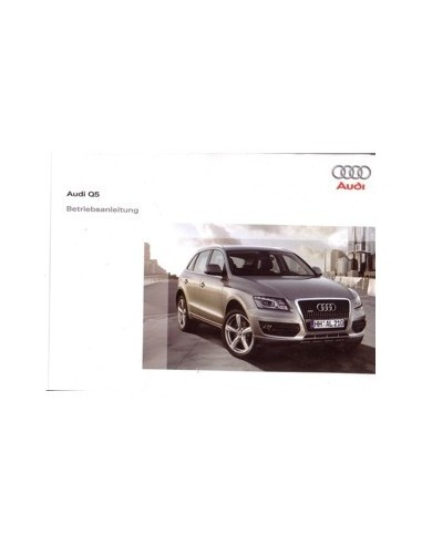 2008 audi q5 owners manual handbook german automotive literature rh autolit eu Audi A4 Owner's Manual owners manual audi q5 2011