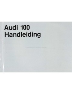1970 AUDI 100 OWNERS MANUAL HANDBOOK DUTCH