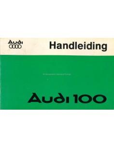 1977 AUDI 100 BETRIEBSANLEITUNG NIEDERLÄNDISCH
