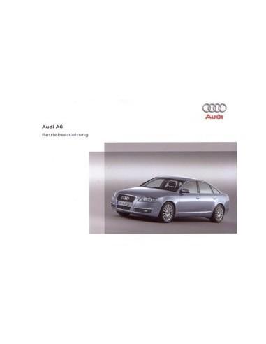 2006 AUDI A6 INSTRUCTIEBOEKJE DUITS
