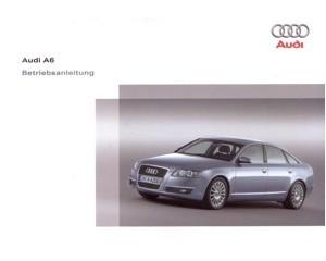 2006 audi a6 owners manual handbook german automotive literature rh autolit eu 2006 audi a6 quattro owners manual 2006 Audi A6 3.2 Quattro Sedan