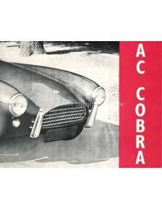 1963 AC COBRA BROCHURE ENGLISH