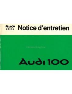 1977 AUDI 100 BETRIEBSANLEITUNG FRANZÖSISCH