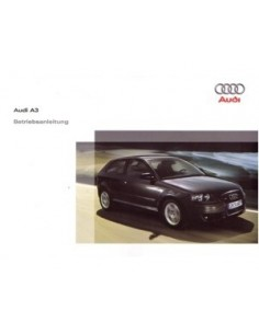 2007 AUDI A3 OWNERS MANUAL HANDBOOK GERMAN