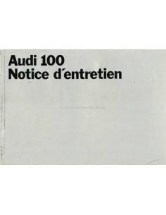 1969 AUDI 100 BETRIEBSANLEITUNG NIEDERLÄNDISCH