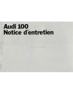 1969 AUDI 100 OWNERS MANUAL HANDBOOK DUTCH