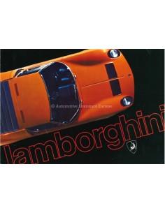 1970 LAMBORGHINI MIURA JARAMA ESPADA BROCHURE ENGLISH