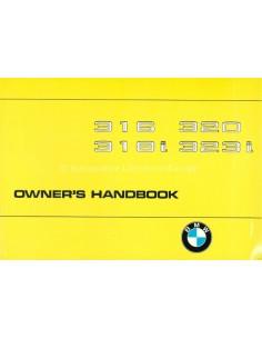 1981 BMW 3ER BETRIEBSANLEITUNG ENGLISCH