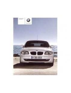 2009 BMW 1 SERIES OWNERS MANUAL HANDBOOK GERMAN