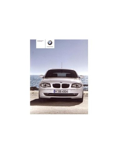 2009 BMW 1 SERIE INSTRUCTIEBOEKJE DUITS