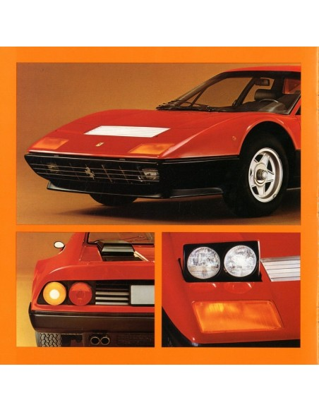 1976 FERRARI 512 BB BROCHURE 133/76
