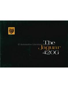 1968 JAGUAR 420 G PROSPEKT ENGLISCH
