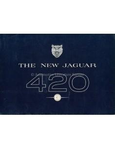 1967 JAGUAR 420 G PROSPEKT ENGLISCH