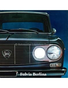 1971 LANCIA FULVIA BERLINA BROCHURE