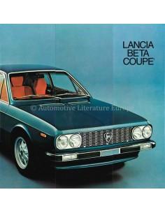 1974 LANCIA BETA COUPE PROSPEKT ENGLISCH