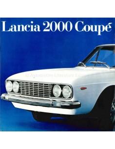 1971 LANCIA 2000 COUPÉ BROCHURE