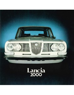 1971 LANCIA 2000 PROSPEKT