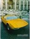1971 DE TOMASO PANTERA PROSPEKT ENGLISCH USA