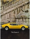 1973 DE TOMASO PANTERA L BROCHURE ENGLISH US