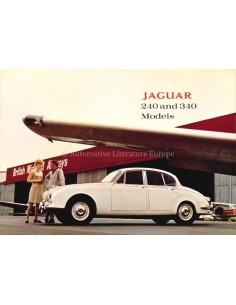 1967 JAGUAR MK II 240 / 340  PROSPEKT ENGLISCH