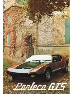 1979 DE TOMASO PANTERA GTS BROCHURE