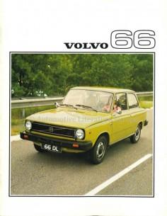 1976 VOLVO 66 PROSPEKT NIEDERLÄNDISCH