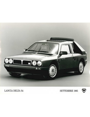 1985 LANCIA DELTA S4 PRESSEBILD